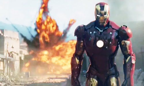 Iron Man Walking Away From Explosion | Butts | Pinterest ...
