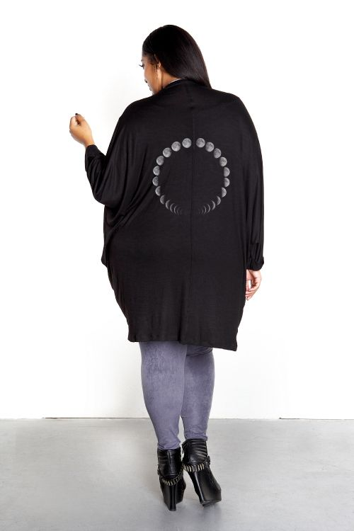 Domino Dollhouse - Plus Size Clothing: Lunar Cocoon Cardigan