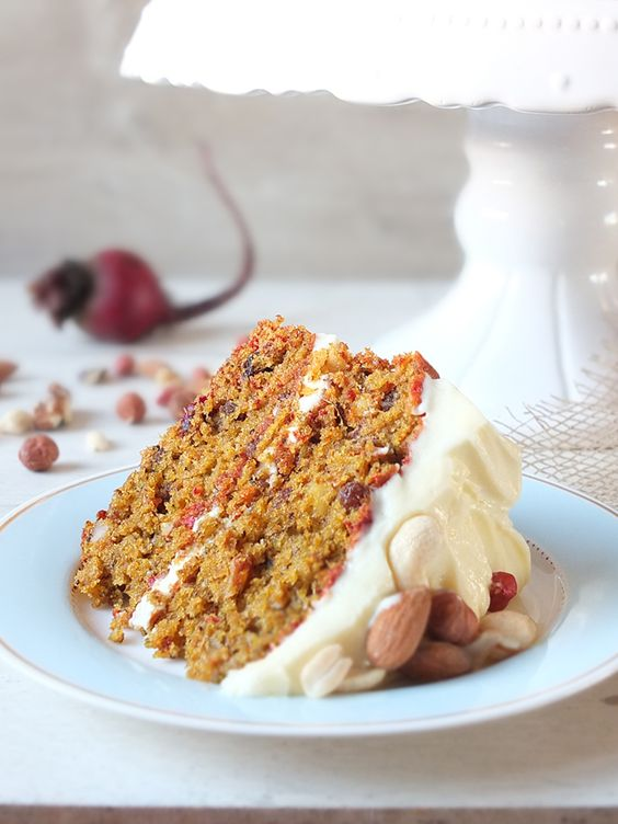 Slow Juicer Pulp Recipes : Carrot, Beetroot & Ginger Juice Pulp Cake with Cream ...