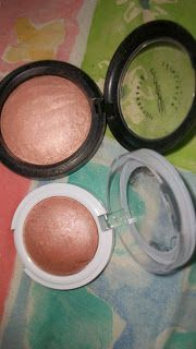 Dupe For MAC MSF in By Candlelight! (Hard Candy Baked Blush)
