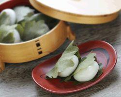 Kashiwa (Oak Leaves) mochi for Boys' May Festival