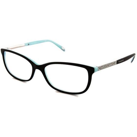 tiffany tiffany optical frames brl liked on polyvore featuring accessories eyewear eyeglasses black clear eye glasses wide glasses tiffany co