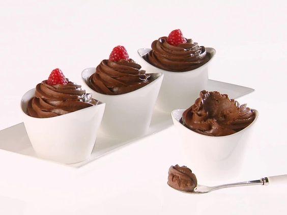 Giada's Chocolate-Avocado Mousse #Healthy #Avocado