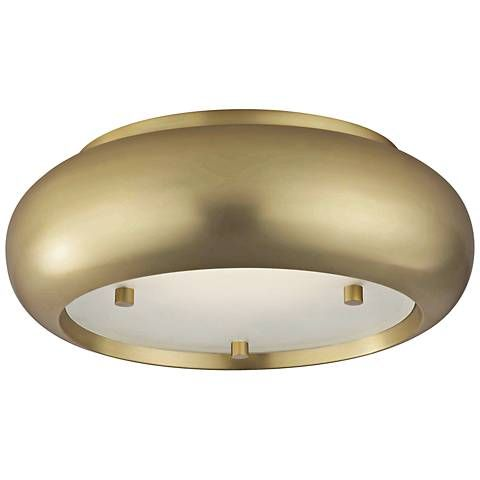 Mitzi Keira 10 Wide Aged Brass Led Ceiling Light 46n25 Lamps Plus Ceiling Lights Led Ceiling Lights Led Ceiling
