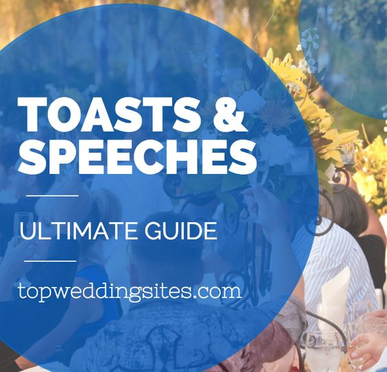 Ultimate Guide To Wedding Speeches & Toasts