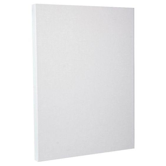 "Fredrix Pro Belgian Linen Pre-Stretched Canvas, 14""x18"", White"
