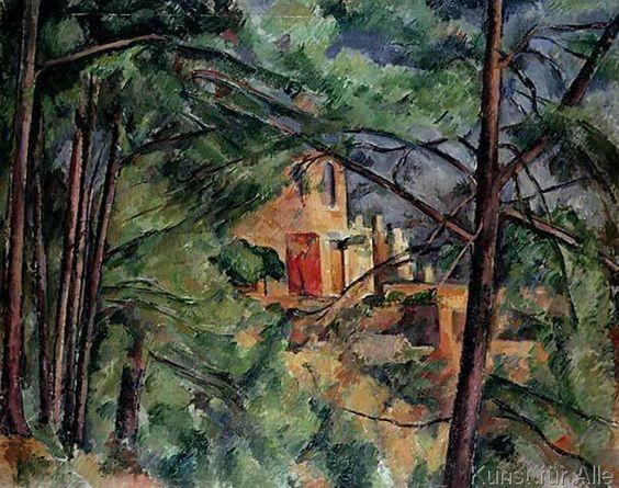 Paul Cézanne - Chateau Noir, c.1904