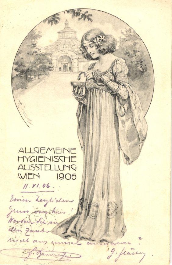 Allgemeine Hygienische Ausstellung (General Hygienic Exhibition), Wien 1906. Zasche, T - artist.