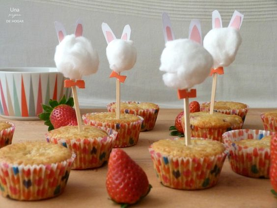 toppers sobre muffins : via MIBLOG