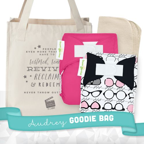 LIMITED EDITION bumGenius Newborn Genius Series - Audrey + Goodie Bag - bumGenius - Cotton Babies Cloth Diaper Store #CottonBabies