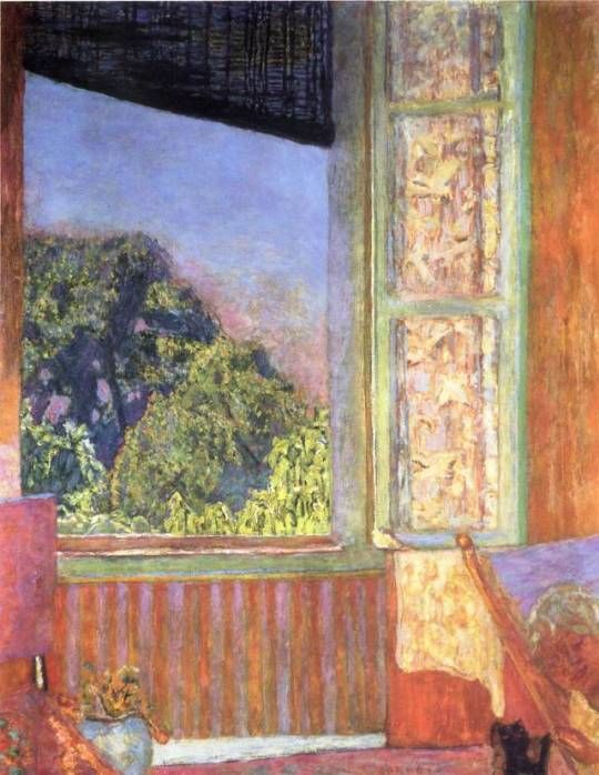 Pierre Bonnard The Open Window 1921 Les Arts Bonnard
