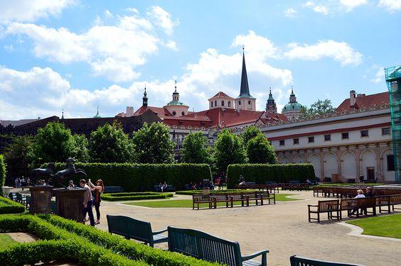Les jardins du Sénat de Prague