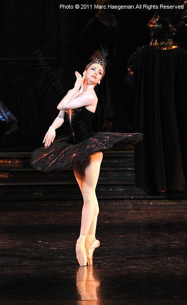 Evgenia Obraztsova's debut in Swan Lake
