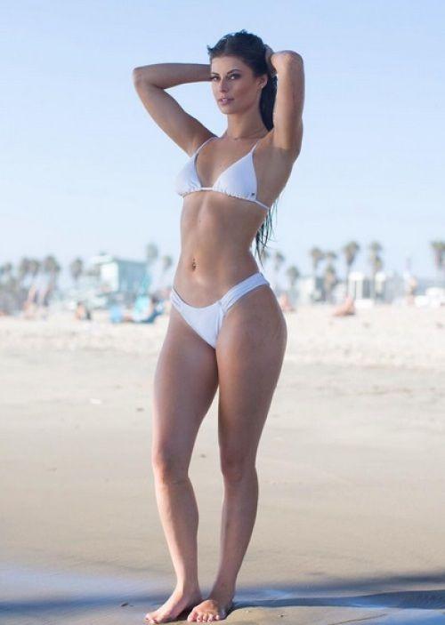 La bella modelo Hanna Stocking,