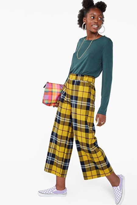 Wide leg dressy trousers