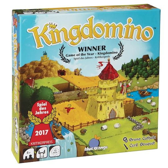Kingdomino Strategy Board Game Strategy Board Games Orange Games Board Games