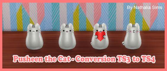 Pusheen the Cat - Conversion | Nathalia Sims