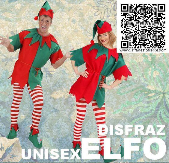 Disfraz unisex de elfo o duende de los bosques buena - Disfraces duendes navidenos ...