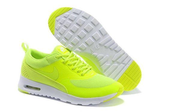 Laufschuhe Damen Nike Air Max Thea (Volt) Kaufen Günstig Preis