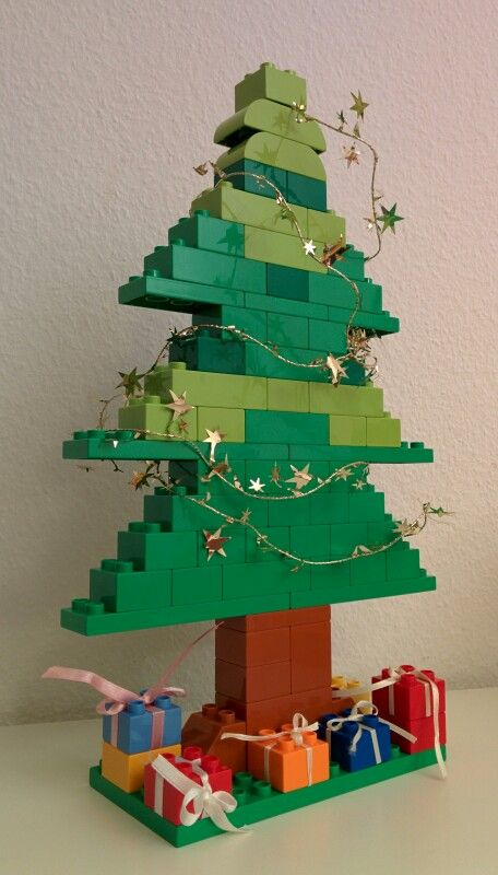 Lego duplokerstboom mamaliefde - Lego duplo ideen ...