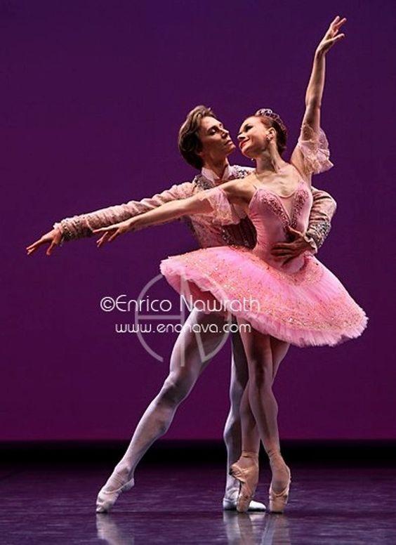 <<Happy Birthday Irina! # Irina Dvorovenko (American Ballet Theatre) was born on October 28, 1971 in Kiev, Ukraine # Irina Dvorovenko and Maxim Belotserkovsky # Photo © Enrico Nawrath>>