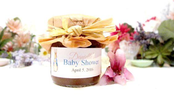Baby Shower Favors Vintage Peter Rabbit choose by InNonnasKitchen