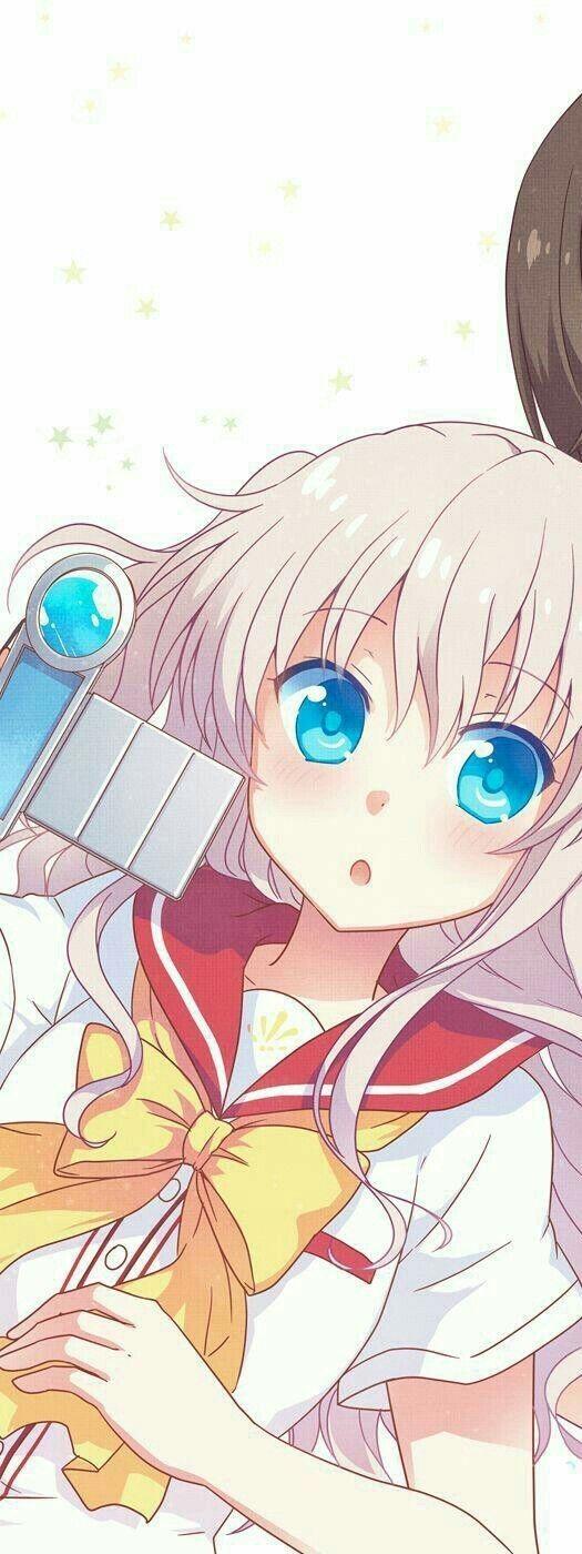 Pin Oleh Reda Redx Di Couple Seni Anime Seni Pasangan Animasi Charlotte anime mobile wallpaper