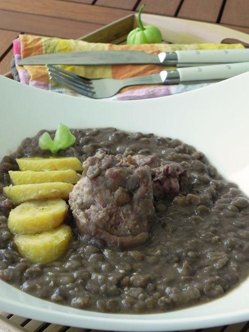 Lentilles a l antillaise 2 recettes de cuisine - Cuisine creole antillaise ...