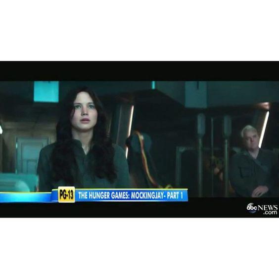 "@cleverdeen's photo: ""NEW clip from Mockingjay Part 1! (part 1/2) •|• {#mockingjay}"" #VIDEO"