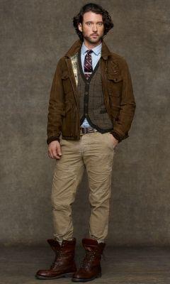 Rockmount Leather Jacket - Polo Ralph Lauren Leather \u0026amp; Suede