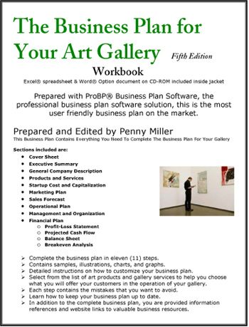 The Business Plan For Your Art Gallery  Business Plans