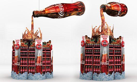 Coke POS 2015 on Behance