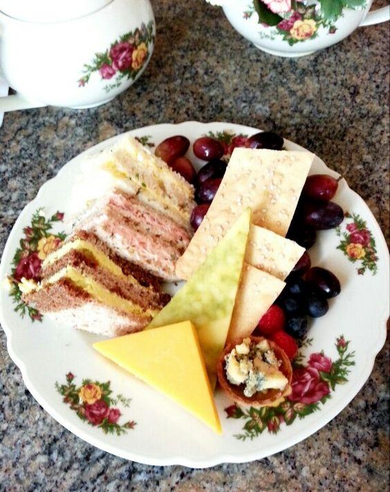 Afternoon tea at Disney's Grand Floridian Resort & Spa.