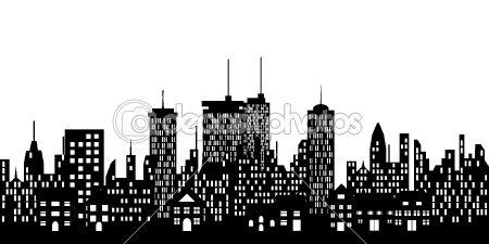 Urban skyline of a city — Stock Vector #5984634