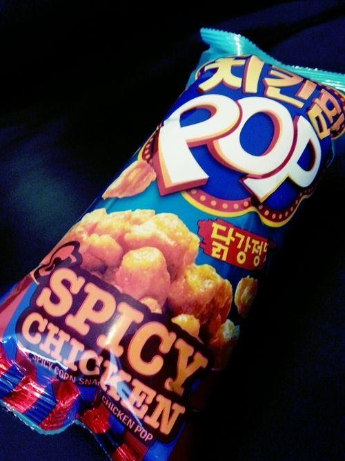 Korean Snacks Spicy Corn Snack Chicken Pop K O R E A N F O O D