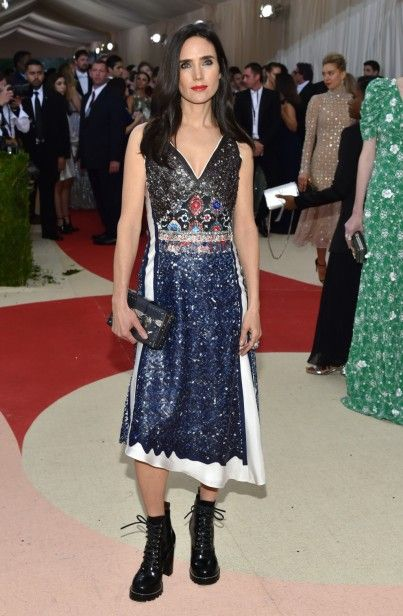 Mandatory Credit: Photo by Andrew H. Walker/REX/Shutterstock (5669035ft) Jennifer Connelly The Metropolitan Museum of Art's COSTUME INSTITUTE Benefit Celebrating the Opening of Manus x Machina: Fashion in an Age of Technology, Arrivals, The Metropolitan Museum of Art, NYC, New York, America - 02 May 2016: