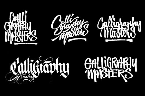 calligraphy contests months