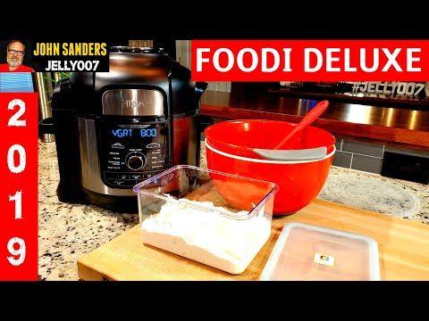 How To Make Greek Yogurt Homemade Ninja Foodi Deluxe Youtube Make Greek Yogurt Greek Yogurt Recipes Greek Yogurt