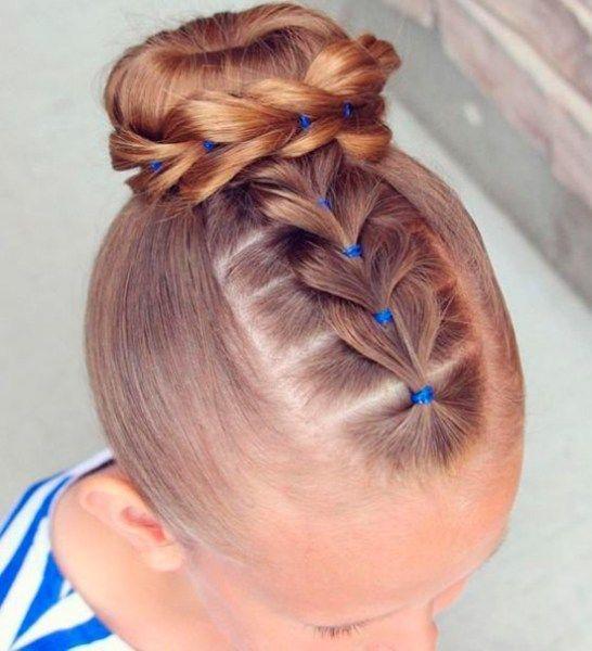 Peinados De Fiesta Pelo Corto Hermosos Soymoda Net Peinados Infantiles Peinados Peinado Con Ligas