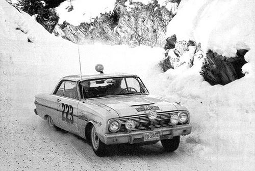 1963 Monte Carlo Rally Plate From Bo Ljungfeldt S Ford Falcon Ford Falcon Monte Carlo Rally Ford Classic Cars