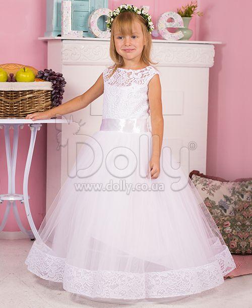 Платье Сэнди белое