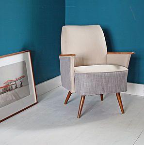 1950s Box Chair - living room