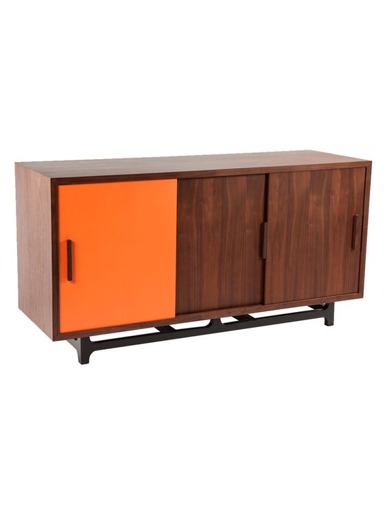 Thoro Credenza from Design Duo: Wood & Neutrals on Gilt