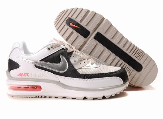 Nike Air Max Ltd White-black 454502 056 | Nike air max ltd ...