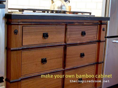 Ten Creative Ways to Embellish, Repurpose and Reinterpret Cabintry   @The Inspired Room: Wood Cabinets, Diy Ideas, Good Ideas, Reinterpret Cabinetry, House Ideas, Refurbish Cabinets, Plain Cabinets