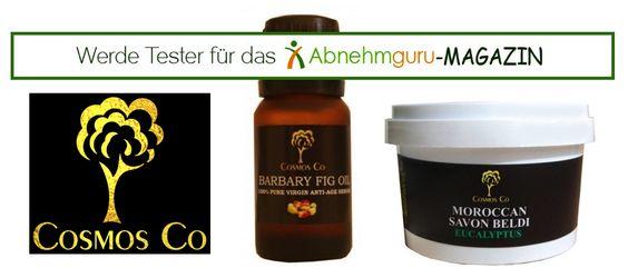 Wir haben ein zweites Testpaket von Cosmos Co. für euch. Wer möchte das Kaktus-Öl und die schwarze Seife für uns testen?Ausschreibung vom 14.04.2015-21.04.2015. Weitere Infos: http://www.abnehmguru-magazin.de/cosmosco-test2/