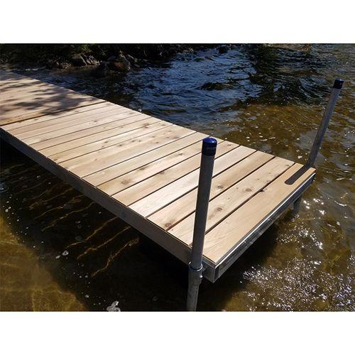 Patriot Docks Floating Dock W Cedar Decking Floating Dock Diy