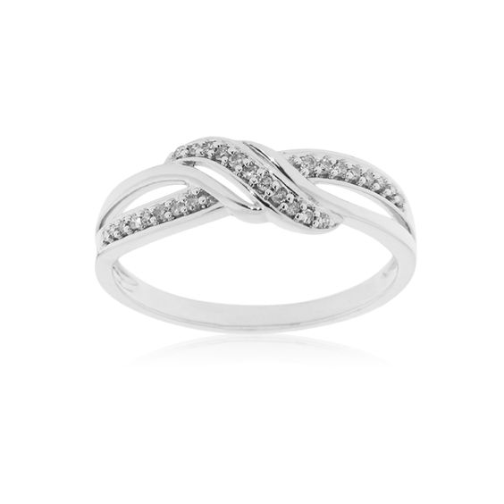 Alliance CLEOR Or 375/1000 Diamants 0,10 ct
