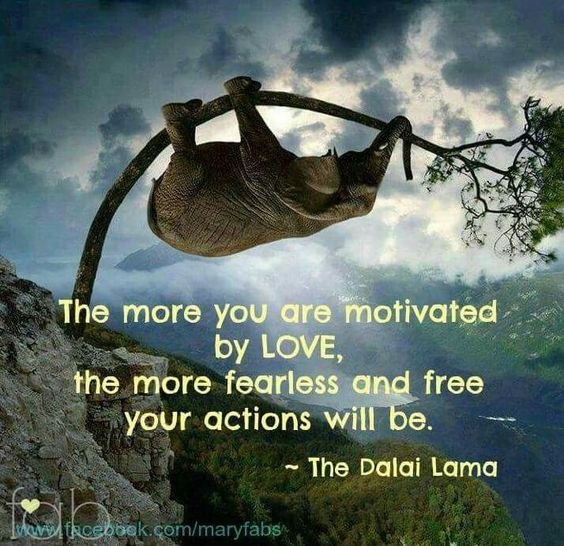 Breath Motivated by Love