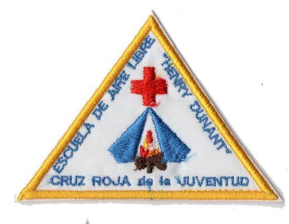 Triangulo de brazo del uniforme de Cruz Roja Juventud